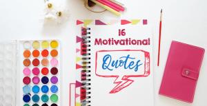 16 motivational quotes blog post
