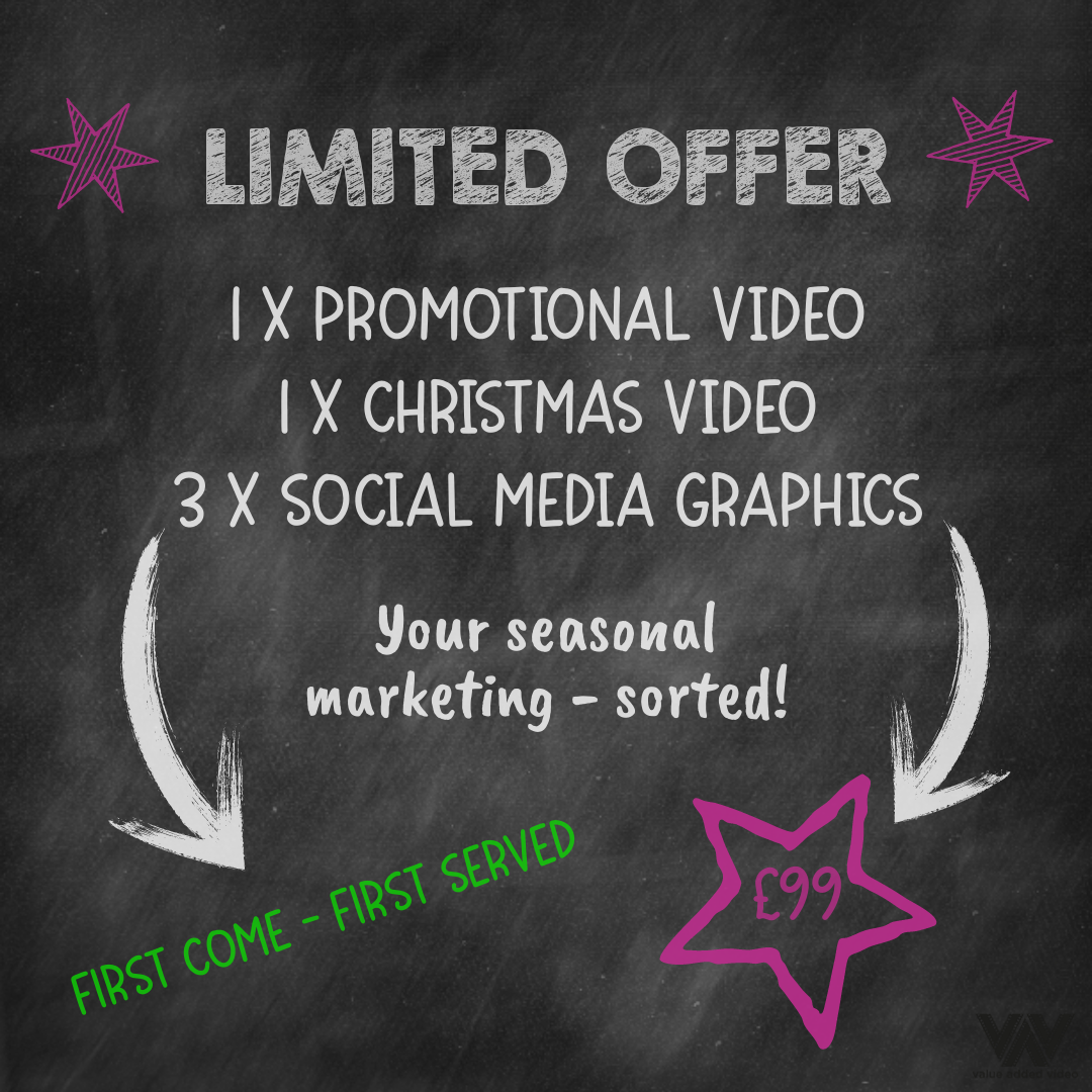 limited offer seasonal graphics and video