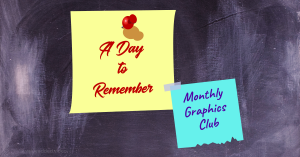 a day to remember monthly graphics club