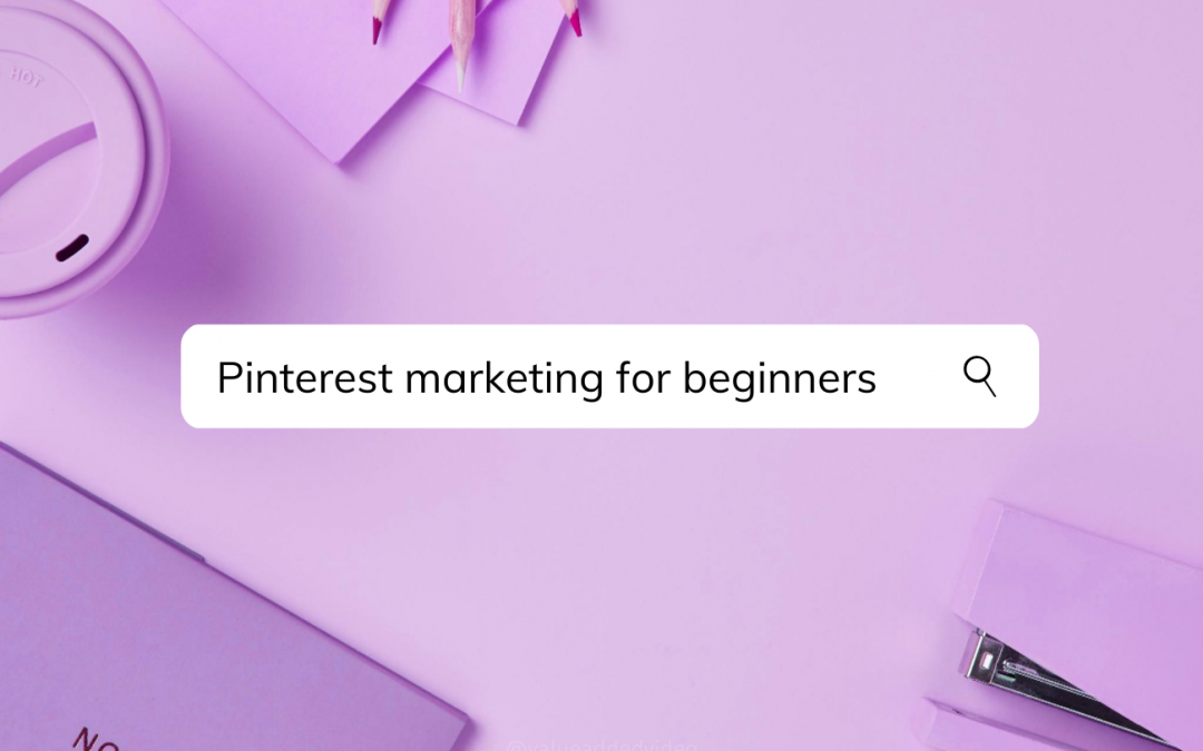 pinterest marketing for beginners training