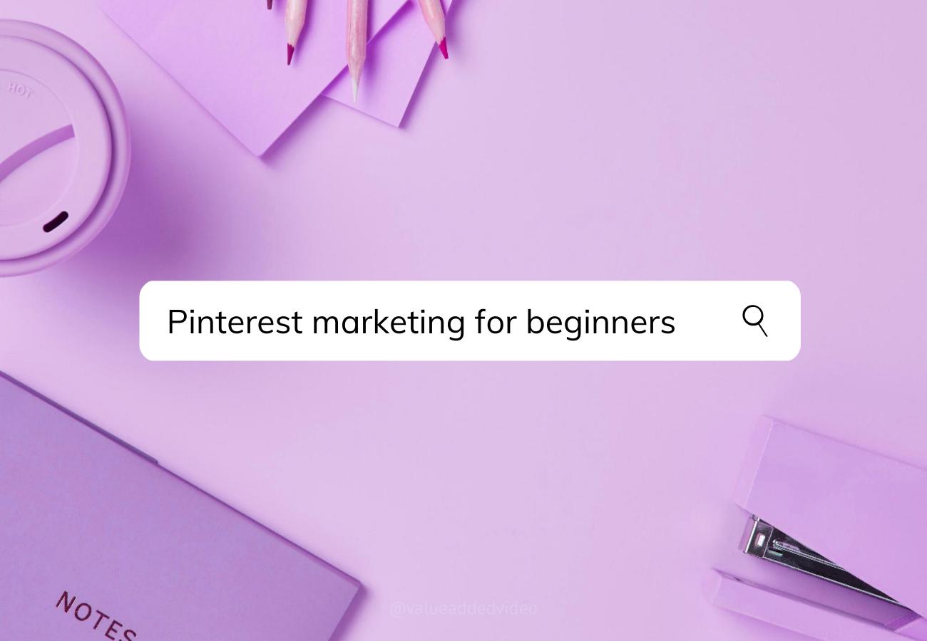 pinterest marketing for beginners training