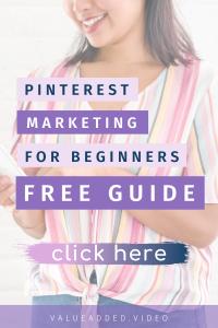 free guide pinterest marketing for beginners