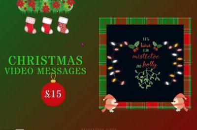 mistletoe and holly christmas viideo