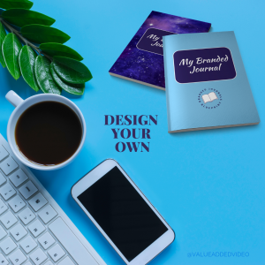 design your own branded journal