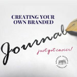 branded journals jumpstart 1:1 mentoring program
